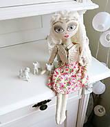 Bábiky - Bábika pre slečnu, dievčatko Eliza - 6819578_
