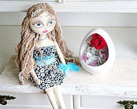 Bábiky - Bábika slečna Kiara - 6819632_