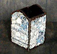 Krabičky - Gríngejtová krabička na ceruzky a perá - 6817511_