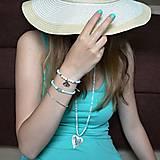 Sady šperkov - Dámská sada šperků v barvě MINT - 6818445_