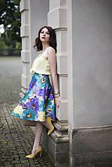 Sukne - Letná kruhová sukňa 2 - 6818872_