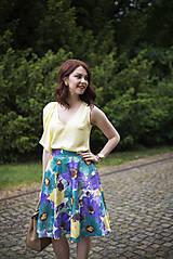 Sukne - Letná kruhová sukňa 2 - 6818874_