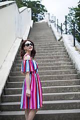 Šaty - Letné šaty s volánom - 6819401_