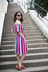 Šaty - Letné šaty s volánom - 6819402_