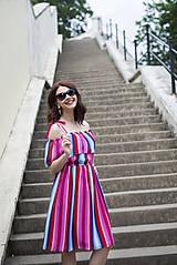 Šaty - Letné šaty s volánom - 6819403_