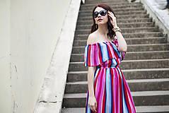 Šaty - Letné šaty s volánom - 6819404_