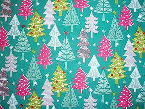 Textil - Christmas Dreams - stromy - 6821393_