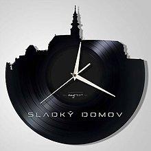 Hodiny - Nitriansky Hrad - vinylové hodiny - 6821569_