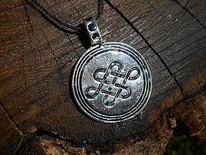 Náhrdelníky - celtic amulet -nekonečný uzol - 6820059_