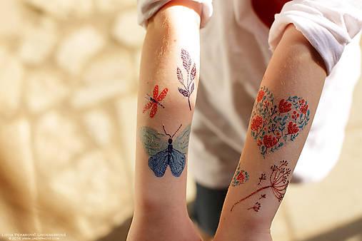 Dočasné tetovačky - Na lúke