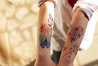 Nezaradené - Dočasné tetovačky - Na lúke (12) - 6823299_