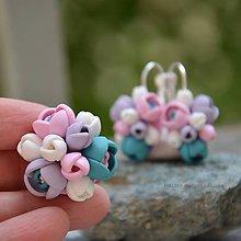 Sady šperkov - Pastelová sada s príveskom alebo s prsteňom - 6822748_