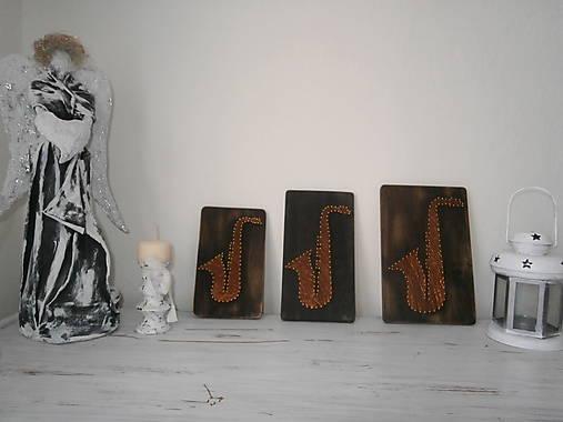 Saxofon a nielen jeden...