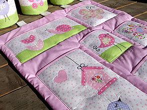 Textil - vreckár a košíčky - 6822426_