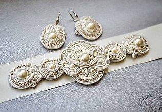 Sady šperkov - Hľadá sa ženích - (opasok, náušnice a hrebienok) - 6821235_