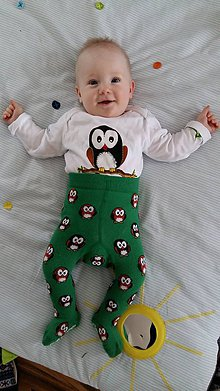 Detské oblečenie - Body sovička - 6822859_