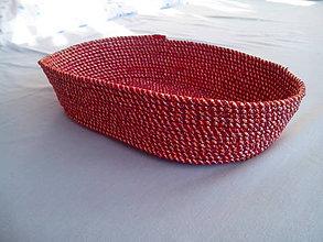 Košíky - vínový - 6826580_