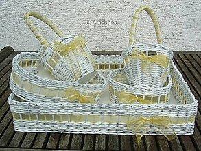 Košíky - Veľká zlatá svadba - 6825589_