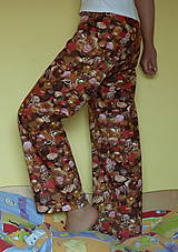 Pyžamy a župany - Čokoládové dlhé - 6826023_