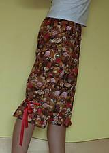 Pyžamy a župany - Čokoláda s mašľami - 6826254_