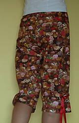 Pyžamy a župany - Čokoláda s mašľami - 6826263_