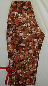 Pyžamy a župany - Čokoláda s mašľami - 6826277_