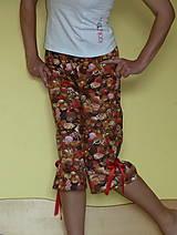 Pyžamy a župany - Čokoláda s mašľami - 6826444_