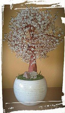 Dekorácie - Veľký stromček šťastia - 6824509_