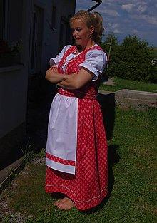 Iné oblečenie - ľudový komplet - 6826089_
