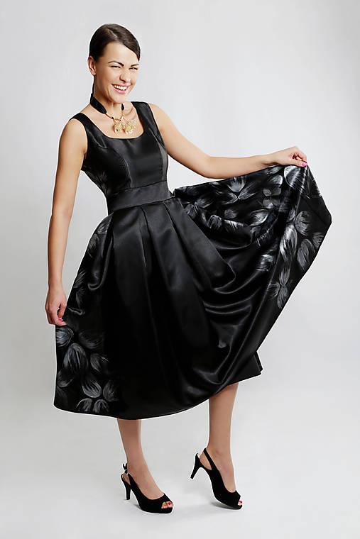 Ručne maľované šaty Kvet   ceccilia - SAShE.sk - Handmade Šaty d799089f4b5
