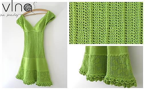 7f1bd9759ead Háčkované letné šaty   pzemkova - SAShE.sk - Handmade Šaty
