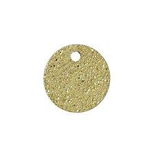 Komponenty - Prívesok krúžok hviezdny prach - 8 mm - 6828951_