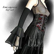 Iné doplnky - Gothické rukávy s volánom - 6827153_