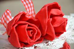 Dekorácie - zápich ruža - 6827942_