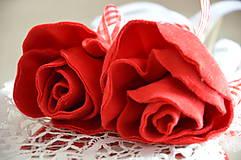 Dekorácie - zápich ruža - 6827944_