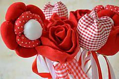 Dekorácie - zápich ruža - 6827945_