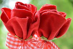 Dekorácie - zápich ruža - 6827946_