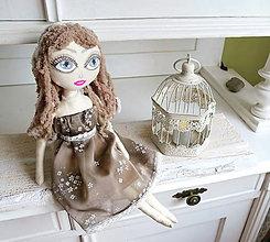 Bábiky - Bábika dievča Ella - 6830308_