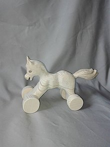 Hračky - vyrezávaný koník - 6830058_