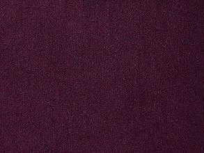 Textil - Super Suede (Alcantara), Bobuľová, 22x33cm - 6830017_