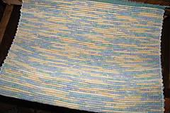 Úžitkový textil - Koberec zeleno-žltý 2 - 6827309_