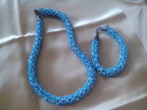 Sady šperkov - ľadové leto - 6833053_