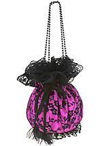 Kabelky - Pompadúrka růžová čipková , kabelka pre nevestu  8p - 6832466_