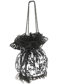 Kabelky - Pompadúrka fialová čipková , kabelka pre nevestu  10p - 6832504_