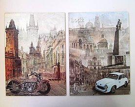 Obrázky - Obrázky retro- Praha, Lodz - 6833472_