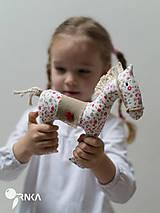 Hračky - koník Kvetka - 6833313_