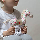 Hračky - koník Kvetka - 6833317_