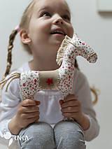 Hračky - koník Kvetka - 6833318_