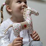 Hračky - koník Kvetka - 6833319_