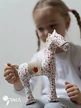 Hračky - koník Kvetka - 6833320_